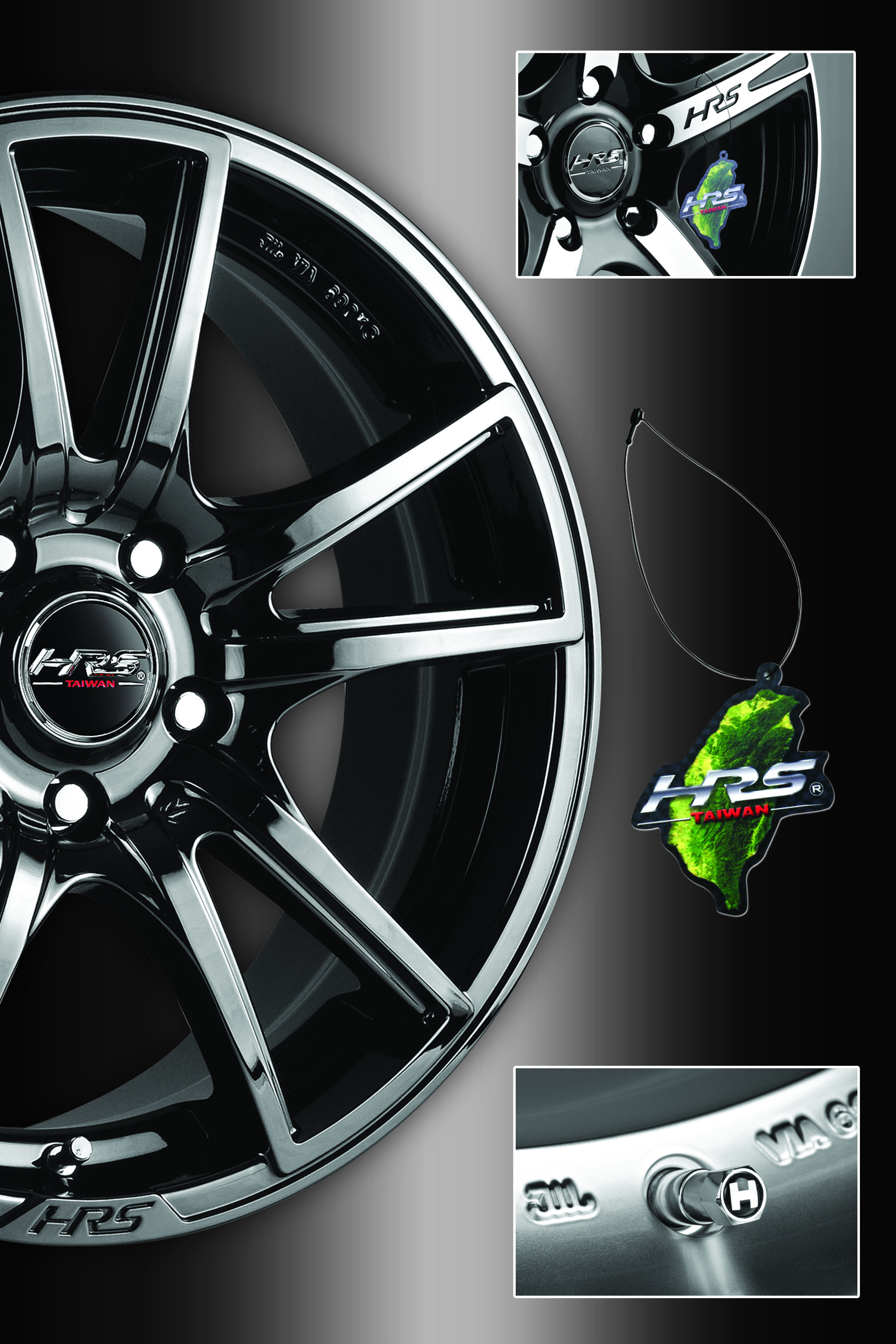 How to check for genuine HRS alloy wheels ?
